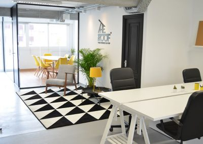 recepción-the-roof-coworking