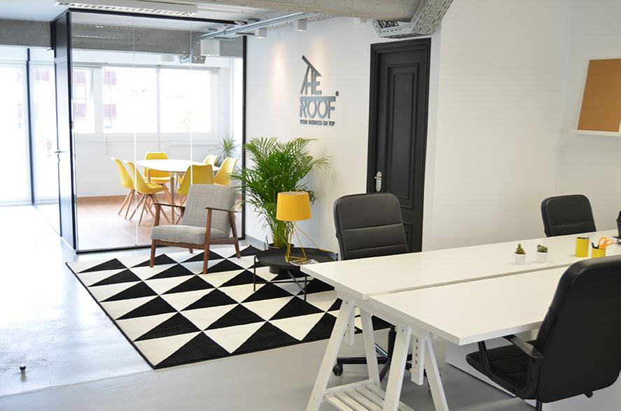 coworking the roof coru a oficina virtual y sala de